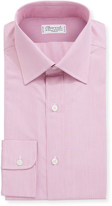 Charvet Men's Stripe Cotton Dress Shirt