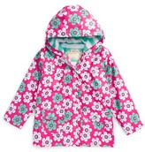 Hatley Toddler Girl's Daisies Hooded Raincoat