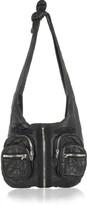 Donna leather hobo bag