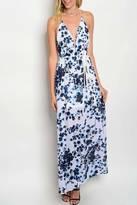 Vanessa Mooney Halter Maxi Dress