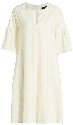 Piazza Sempione Bell Sleeve Shift Dress
