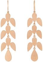 Irene Neuwirth Women's Leaf-Motif Drop Earrings