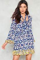 Nasty Gal Just Wait and Seed Floral Dress