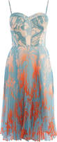 Karen Millen Pleated Midi Dress