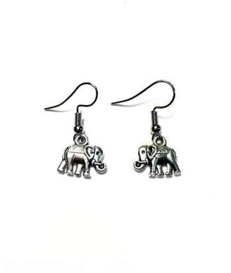 Love's Hangover Creations Roaming Elephant Earrings