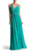 Dress the Population Women's Lana Chiffon Gown