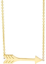 Jennifer Meyer Women's Arrow Pendant Necklace-Gold