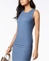 MICHAEL Michael Kors Ribbed Tank Top Regular & Petite, Created for Macy's