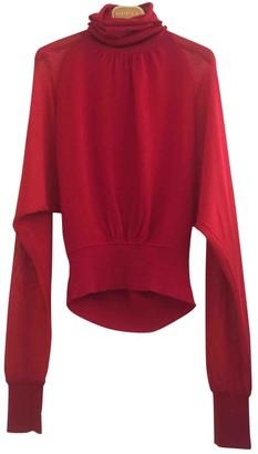 Giambattista Valli Red Wool Knitwear for Women
