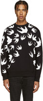 McQ by Alexander McQueen Black Swallow Pullover