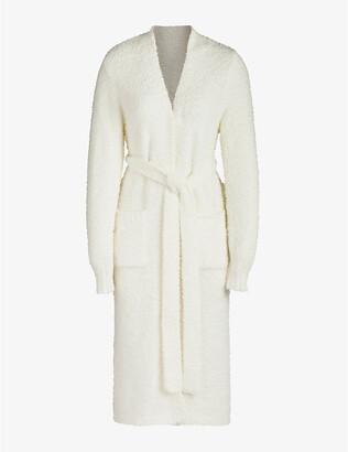 SKIMS Ladies Cream Cozy Knitted Robe, Size: XXS/XS