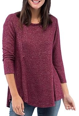 Bobeau B Collection By B Collection by Brushed Tunic Top