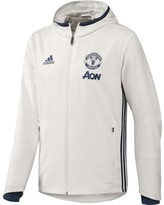adidas Manchester United FC Zip-Up Presentation Jacket with Hood