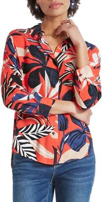 Nic+Zoe Tahiti Woven Shirt