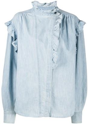 Etoile Isabel Marant Gossia chambray denim blouse
