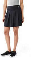 Lands' End Women's Active Pleated Skort-Vibrant Concord