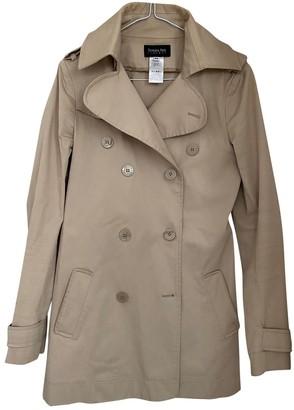 Patrizia Pepe Beige Cotton Coat for Women