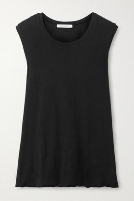 Nili Lotan Supima Cotton-jersey Tank - Black