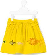 Rykiel Enfant embroidered full skirt