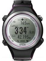 Epson Unisex Runsense GPS Bluetooth Smart SF810V Heart Rate Monitor Alarm Chronograph Radio Controlled Watch E11E209013