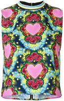 House of Holland Heart tank - women - Polyester - 10
