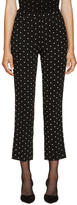 Givenchy Black Cross Print Trousers