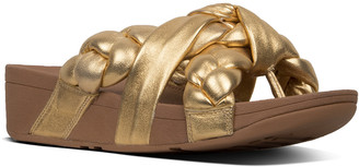FitFlop Platt Leather Thong Sandal