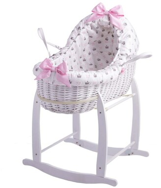 Rachel Riley My Little Princess Bassinet with Stand