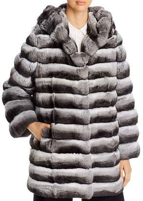 Maximilian Furs Chinchilla Hooded Jacket - 100% Exclusive