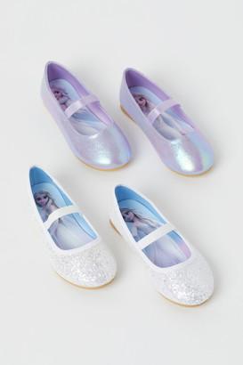 H&M 2 Pairs Ballet Flats