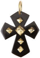 Ashley Pittman Pembeni Dark Horn Cross Pendant