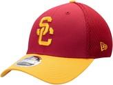 New Era Men's Cardinal USC Trojans Team Neo 39THIRTY Flex Hat