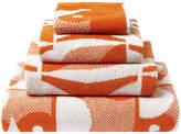 Orla Kiely Owl Towel - Papaya - Face Towel