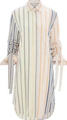 J.W.Anderson gathered sleeve shirt dress