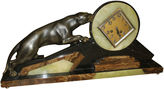 One Kings Lane Vintage French Art Deco Panther Clock