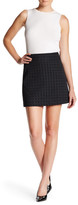 Theory Irenah Squared Mini Skirt