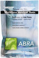 Abra Moisture Therapy (Sunflower + Rose) Bath Salts by 3oz Bath Powder)
