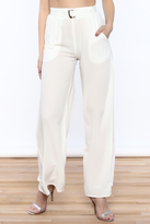 Timeless Buckle Up Pants