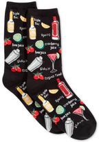 Hot Sox Women's Cocktails Socks