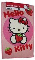 Hello Kitty 80 x 50 cm Rug, Strawberry
