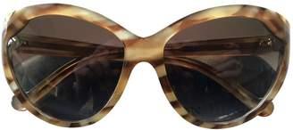 Louis Vuitton Camel Plastic Sunglasses