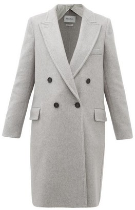 Max Mara Alba Coat - Womens - Grey