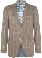 Simon Carter Windowpane Check Thornhill Jacket