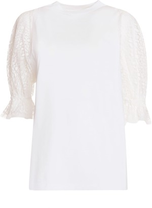 Givenchy White Cotton Top