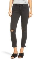 Vigoss Women's Chelsea Slit Hem Skinny Jeans
