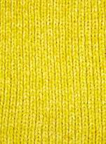 Miss Selfridge Yellow chenille scarf