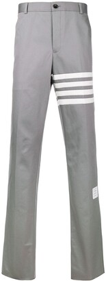 Thom Browne Stripe Detail Tailored Trousers