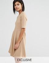 Whistles Exclusive Jersey Flippy Hem Dress