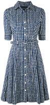 Samantha Sung printed shirt dress - women - Cotton/Spandex/Elastane - L