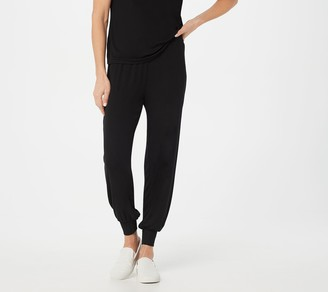 Laurie Felt Fuse Modal Ribbed Knit Pull-On Jogger Pants